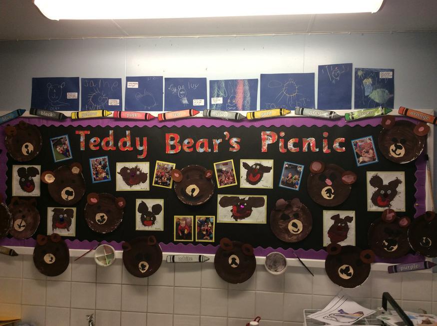 Teddy Bear Picnic day!