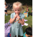 A well deserved ice lolly! 🍡