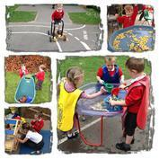 Outdoor learning in Year R