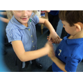We looked at how quickly germs can spread