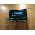 Monitor showing what is happening in the Commons.