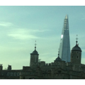 London old & new. The Tower of London - The Shard