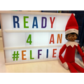 3rd Dec: Our elf has arrived!