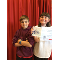Archie and Anya - The Headlands Reading Award