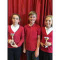 Sophie, Noah & Bethany -The Headlands Sports Award