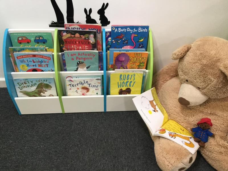 We love the School Library as much as Mr Teddy!