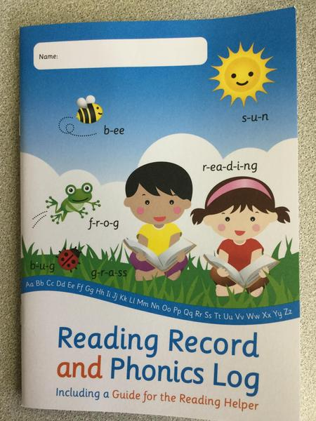 We keep a record of our books in our Reading Log