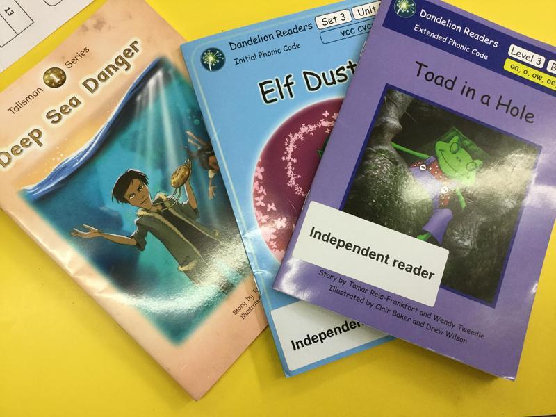 We love reading at Heath Mount Primary School