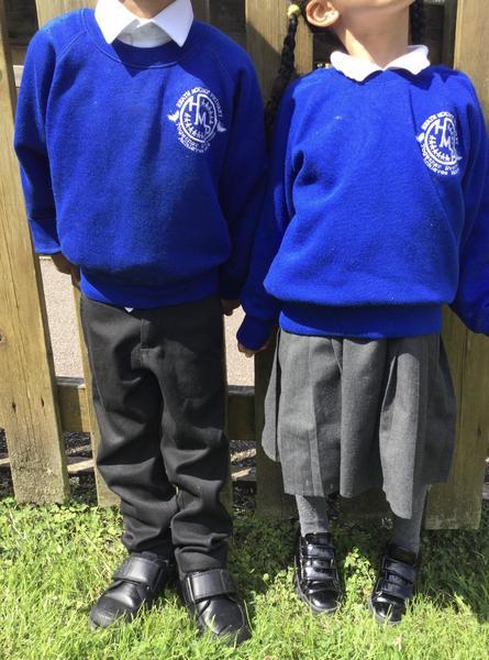 We always wear the correct uniform