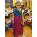 Indian costume.