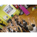 Hand movements in an Indian dance.