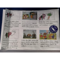 Comic strip of the story.