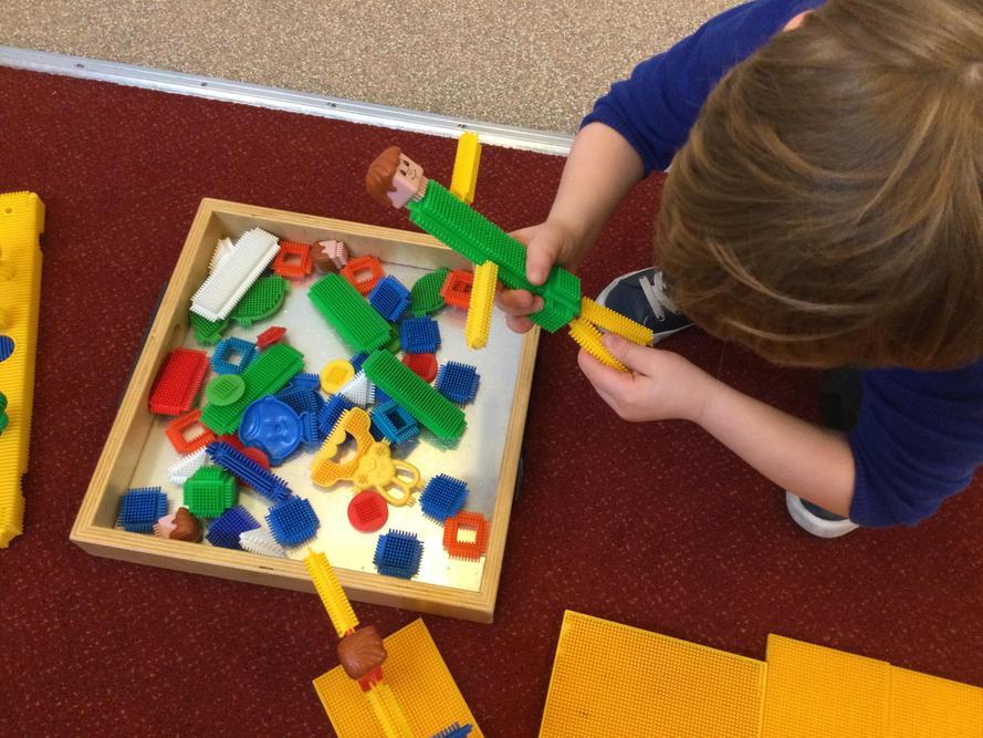 Stickle Bricks fun