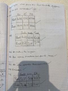 And some brilliant work on time in maths - go WR!