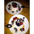 EB Masterchef dessert - love this photo!