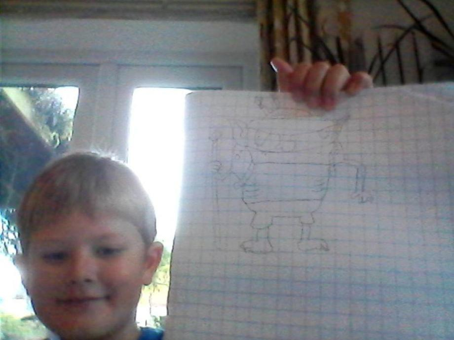 EM's art skills