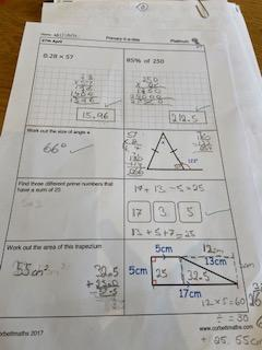WR brilliant Corbett maths 28.4!
