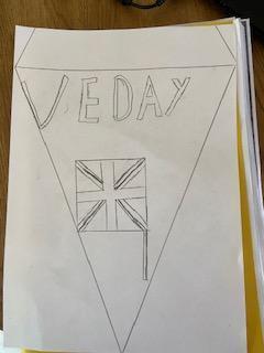WR celebrating VE Day