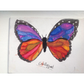 EB water colour butterfly - very beautiful!