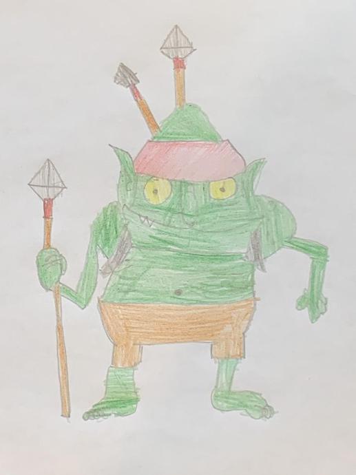 AH's goblin artwork