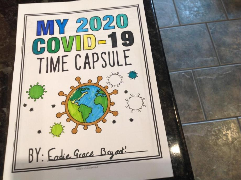 EB time capsule booklet - memories written!