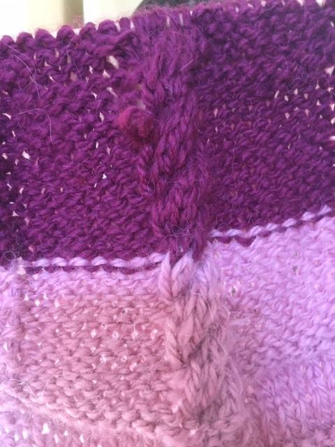 Very technical knitting!