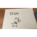 Rhys used his imagination when naming his dog!