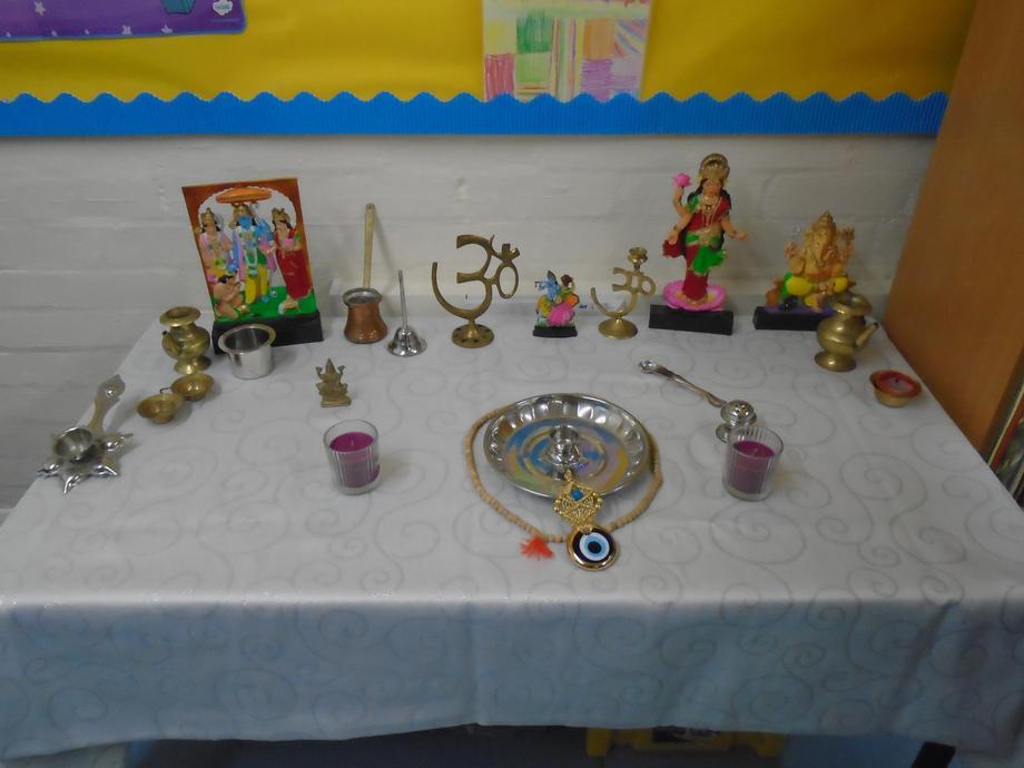 Our HIndu shrine