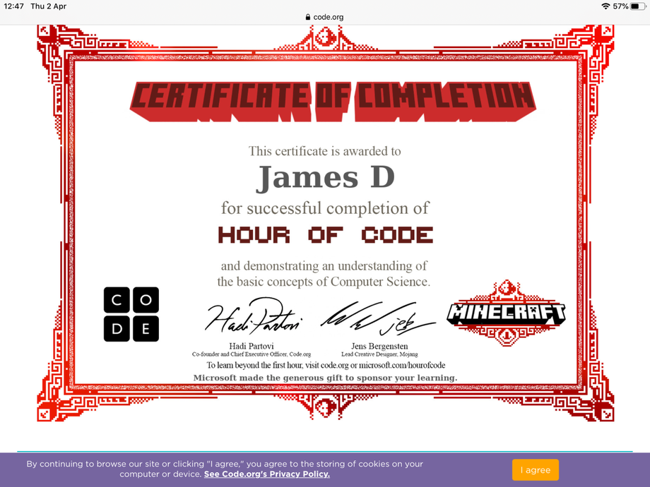 Minecraft coding by JD