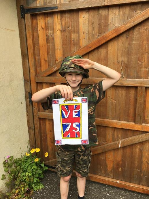 BH salutes you on VE day