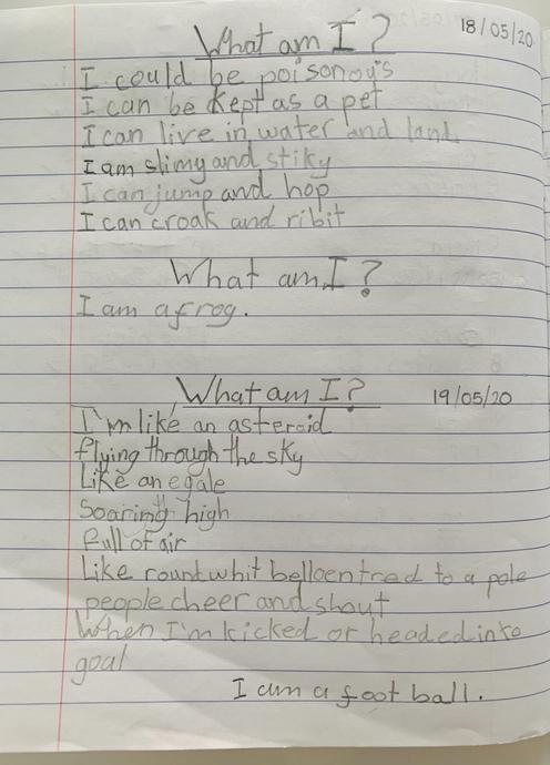 Annabella's riddles 3 and 4