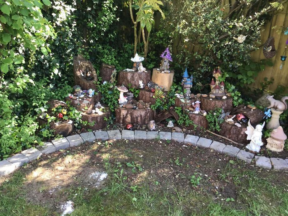 Who has a magical garden?