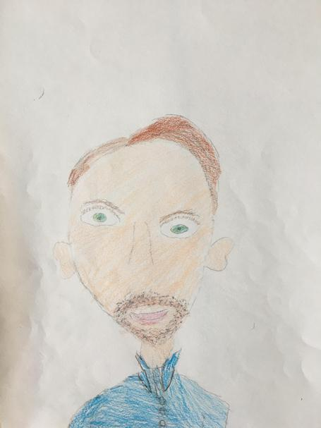 Mr Johnson by Violet in 3A