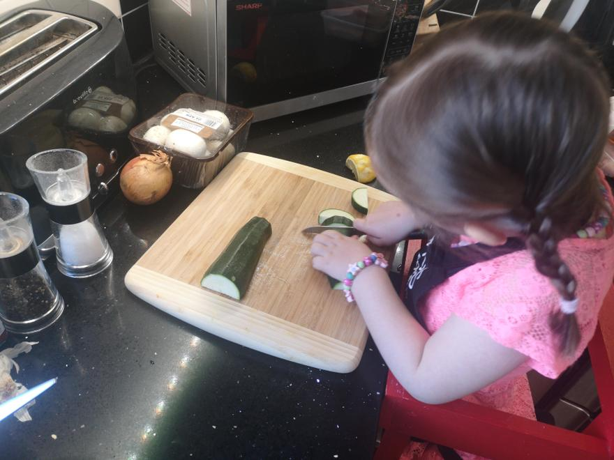 Healthy living - cooking with vegetables
