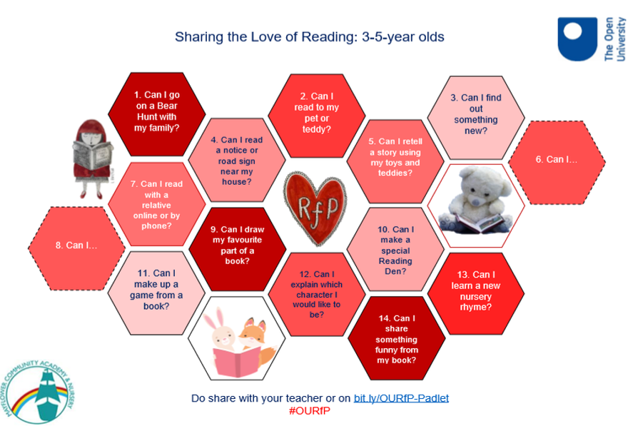 Sharing the love of reading