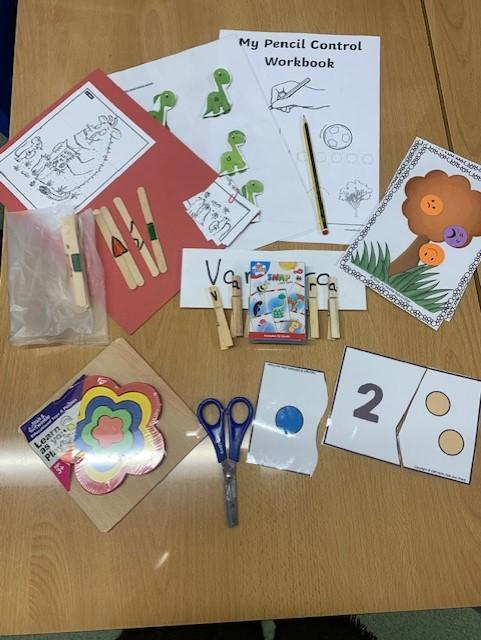 Supporting children to recognise letters, numbers, shapes and sounds