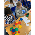 Using shapes to make nets and 3D models.