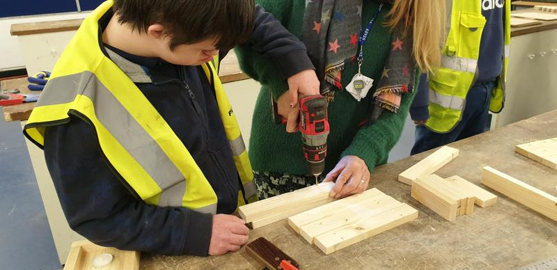 Carpentry at  Aldershot College
