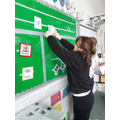 Putting up the timetable