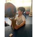 Lovely hot air balloon.