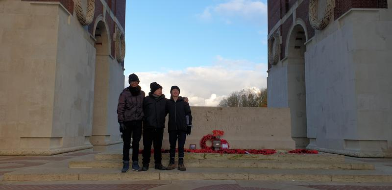 Remebering the Fallen at Thiepval
