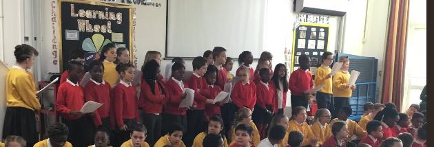 Our wonderful choir