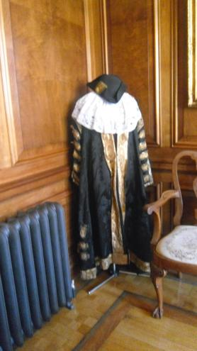The Lord Mayor's robes..