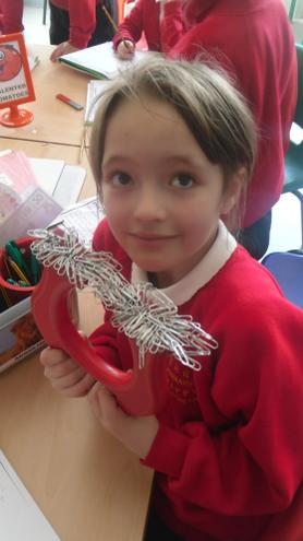 Can you estimate how many paperclips?