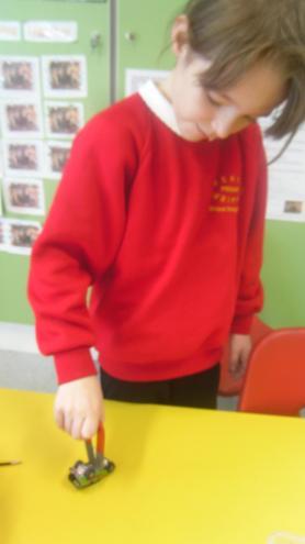 Investigating different materials...