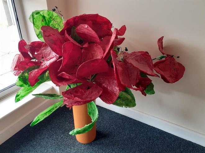 Year 6 3d sculpture - link to British Values / history learning - Remembrance Day Worship