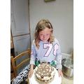 Florence's cake baking