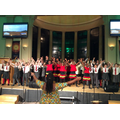 Sir Henry Fermor Choir perform with the African Children's Choir