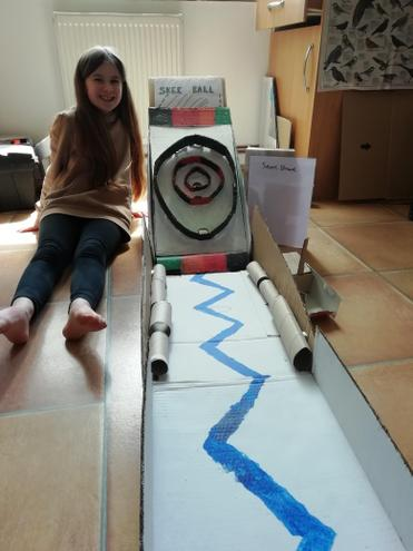 Orla's Skee Ball design project