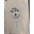 Lowri's death mask